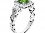 טבעת וינטז יוקרתית- אבן חן מרכזית