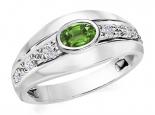 טבעת יהלומים מעוצבת- אבן חן מרכזית