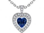 תליון לב אבן חן בצורת לב אמרלד ברקת ספיר או רובי