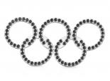 תליון יהלומים שחורים בעיצוב אישי