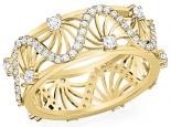 תכשיטי יהלומים טבעת יהלומים בעיצוב מיוחד