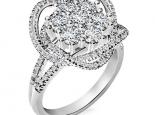 טבעת יהלומים מעוצבת- עיצוב TWIST