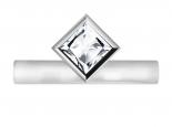 טבעת אירוסין סוליטר מיוחדת- 1 קראט מרכזית