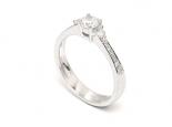 """טבעת יהלום 0.35 קראט - """"URANUS"""""""