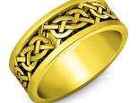 טבעת אפנתית לגבר ואישה