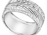טבעת נישואין מעוצבת לגבר ולאישה