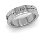 טבעות נישואין לגבר ולאישה טבעת נישואין כשרה דופק לב