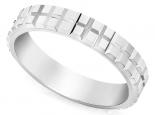 טבעת נישואין כשרה בעיצוב מודרני לגבר ולאישה