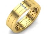 טבעת נישואין לגבר ואישה