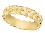 טבעת נישואין עלים -טבעת נישואין כשרה