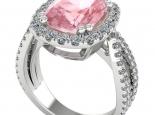טבעת אבן חן לאישה