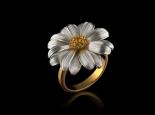 תכשיטים לאישה טבעת מעוצבת פרח