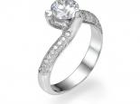 """טבעת יהלום 0.40 קראט - """"ORION"""""""