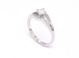"""טבעת יהלום 0.30 קראט עם זרועות מפוצלות ומעוצבות- """"ORION"""""""