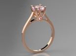 טבעת אבן חן להצעת אירוסין קארט